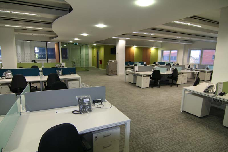 Office fit out a guide to going open plan for Office fit out companies