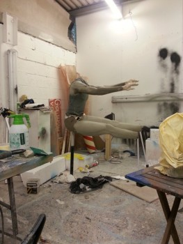 sculpture in progress 2