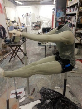 sculpture in progress